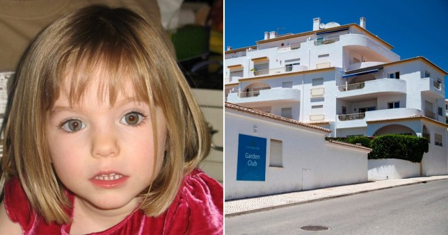 Detectives to re-test saliva sample in apartment where Maddie McCann went missing to see if it matches suspect Pictures: Getty