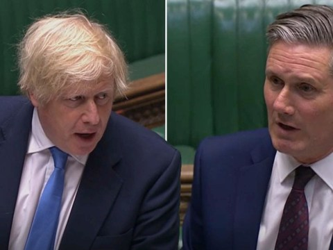Boris Johnson clashes with Keir Starmer over rise in child poverty at PMQs