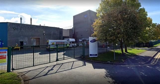 Major coronavirus outbreak at UK meat factory that supplies Tesco and KFC google maps metrograb
