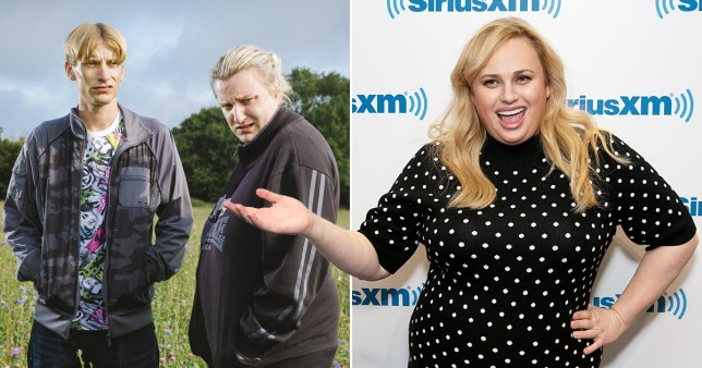 Rebel Wilson discovers This Country and has a lot fo thoughts BBC/Getty