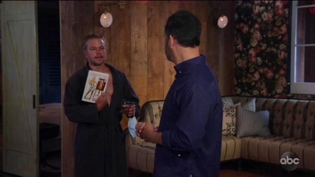 Jimmy Kimmel announces summer hiatus and Matt Damon has some thoughts