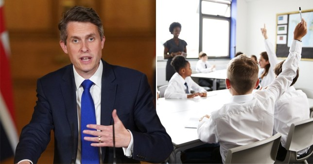 Gavin Williamson says Britain should be 'incredibly proud of its history' when asked if schools should teach more about colonialism Pics: Getty