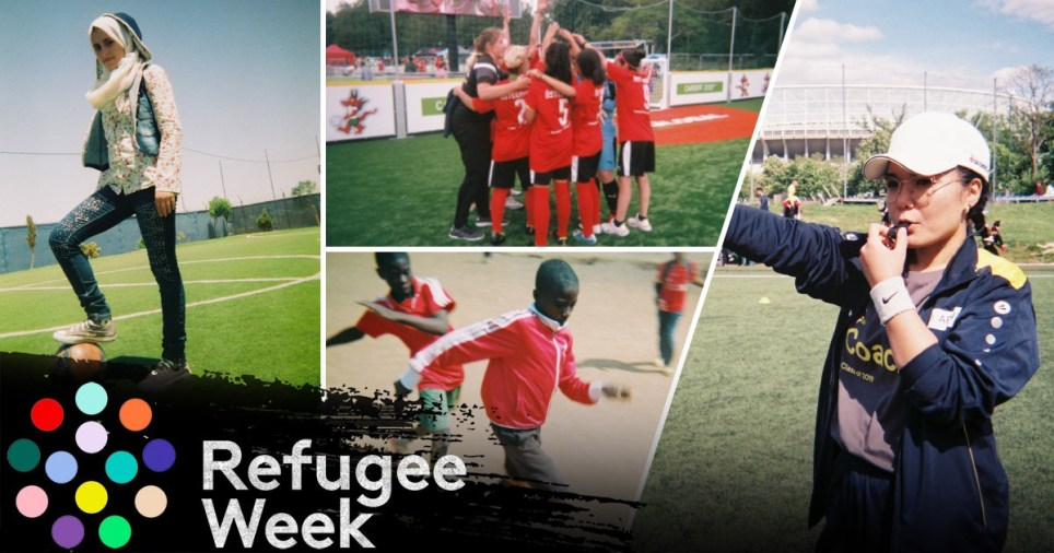 How refugees across the world are using football as an escape to their problems