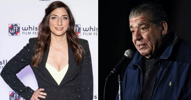 Brooklyn Nine-Nine star Chelsea Peretti  and Joey Diaz