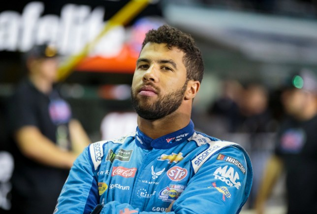 NASCAR driver Bubba Wallace is angered by the FBI's statement