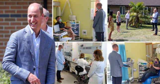 Prince William hails 'incredibly exciting' work done by Oxford Uni vaccine team