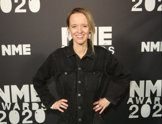 LONDON, ENGLAND - FEBRUARY 12: Emily Eavis poses in the winners room at The NME Awards 2020 at the O2 Academy Brixton on February 12, 2020 in London, England. (Photo by David M. Benett/Dave Benett/Getty Images)