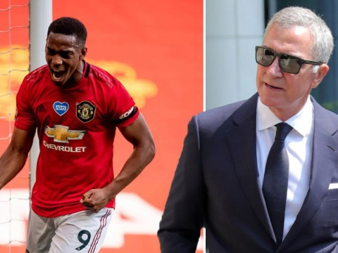 Graeme Souness criticises Anthony Martial after first Manchester United hat-trick