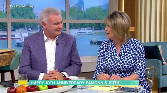 Eamonn Holmes Ruth Langsford This Morning