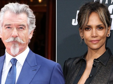 Pierce Brosnan only vaguely remembers saving Halle Berry's life