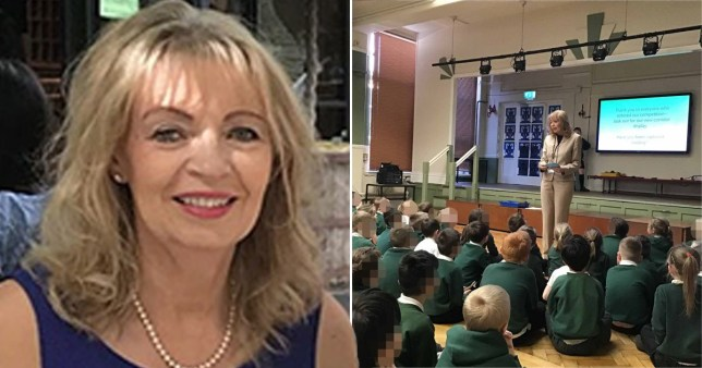 Headteacher of Grange Park primary school Pauline Wood