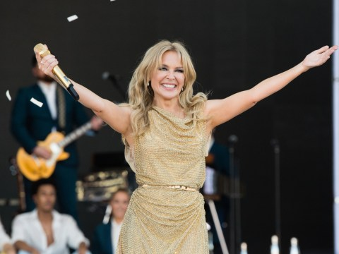 Kylie Minogue reflects on momentous Glastonbury performance she'll 'never forget'