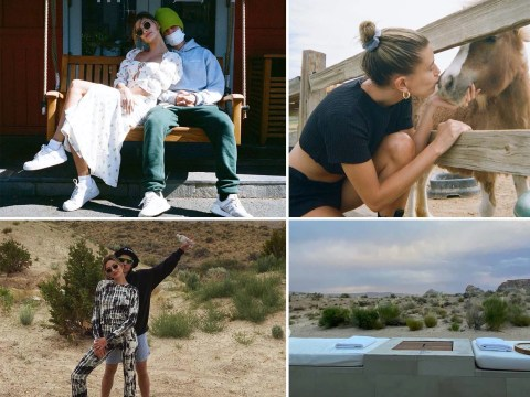 Justin Bieber and Hailey Baldwin get all cute on loved-up trip as he denies sexual assault allegations