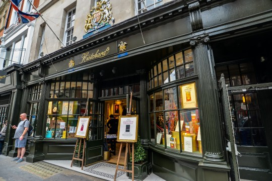 5/24/19 - The oldest bookshop in London, which opened in 1797 - London, UK