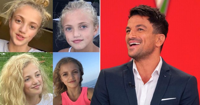 Peter Andre on Princess's birthday