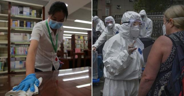 China half a million in lockdown