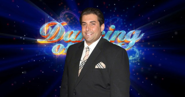 James argent for Dancing on ice?
