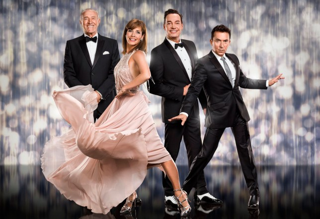 Television programme: Strictly Come Dancing 2016. Len Goodman, Darcey Bussell, Craig Revel Horwood, Bruno Tonioli. WARNING: Embargoed for publication until 00:00:01 on 03/09/2016 - Programme Name: - TX: 03/09/2016 - Episode: Strictly Come Dancing 2016 - Judges (No. n/a) - Picture Shows: ** IMAGE UNDER EMBARGO: SAT 3 SEPT 2016 @ 00:01 ** (C) BBC - Photographer: JAY BROOKS