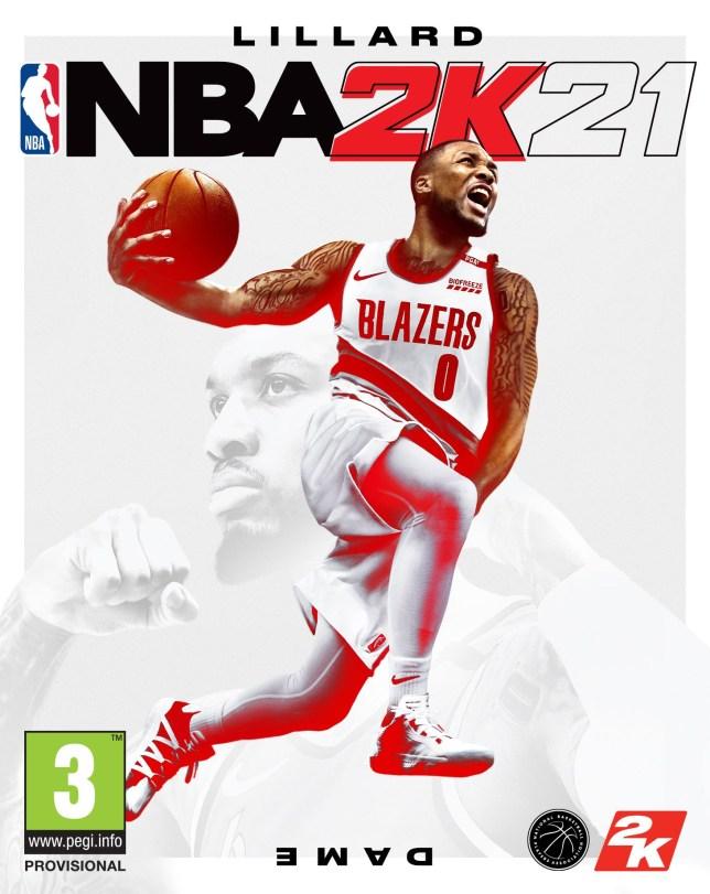 NBA 2K21 cover star Damian Lillard