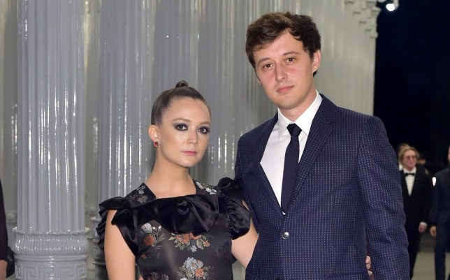 Billie Lourd and Austen Rydell attend 2018 LACMA Art + Film Gala