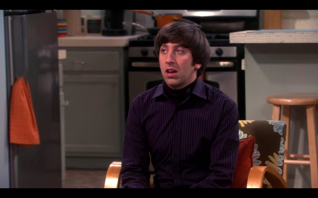 Big Bang Theory - closet reconfiguration
