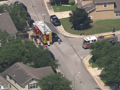 Parents, four kids and their pets found gassed to death in garage 'murder-suicide'