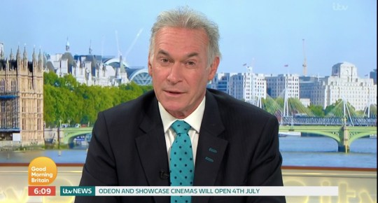 Dr Hilary Jones GMB (Picture: ITV)