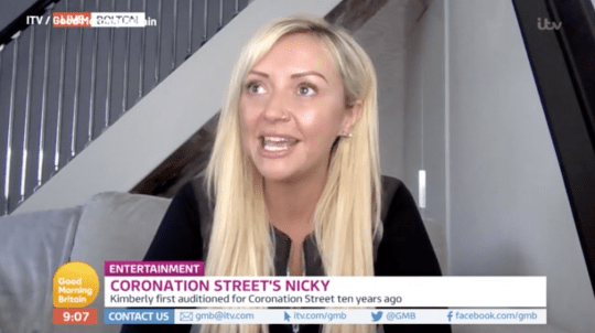Kimberly Hart-Simpson on Good Morning Britain