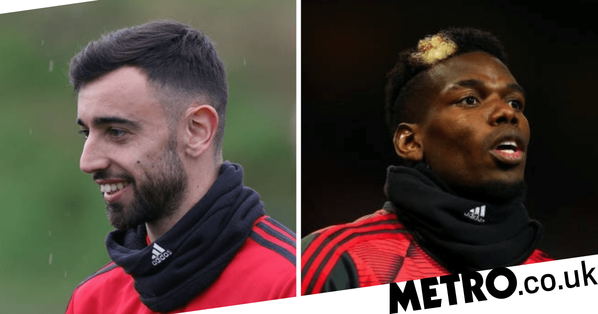 Luke Shaw delivers verdict on Bruno Fernandes and Paul Pogba in Manchester United training - metro