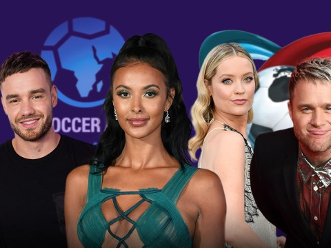 Laura Whitmore, Maya Jama, Liam Payne and Olly Murs join forces for virtual Soccer Aid