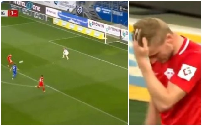 Timo Werner missed a clear one-on-one during RB Leipzig's win over Hoffenheim