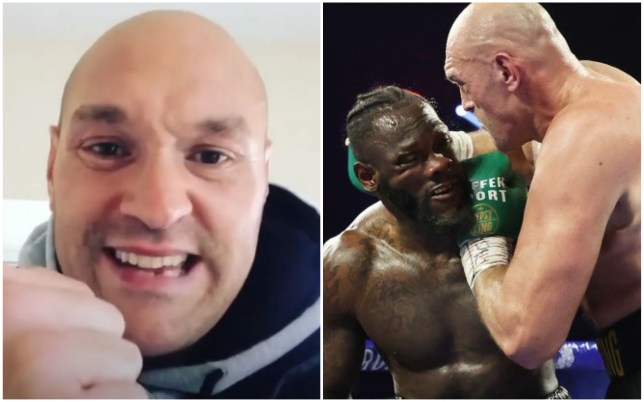 Tyson Fury has hit back at the glove tampering conspiracy in his fight with Deontay Wilder