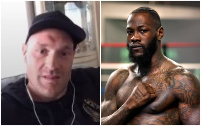 Tyson Fury was unhappy with Deontay Wilder claiming that he could beat a prime Mike Tyson