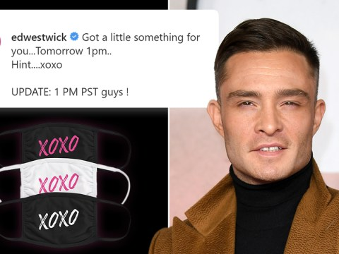 Ed Westwick 'disappoints' fans as he teases 'surprise' Gossip Girl announcement