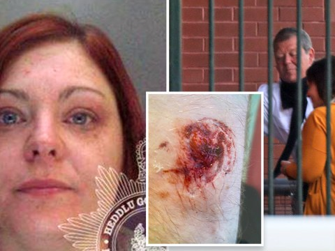 Woman bit, slapped, and head-butted officers breaking up lockdown party