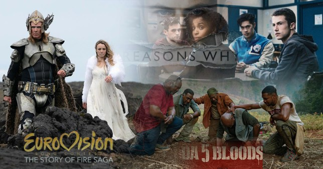 Netflix US June 2020: Best new shows and films including Da 5 Bloods, 13 Reasons Why season 4 and Eurovision Song Contest