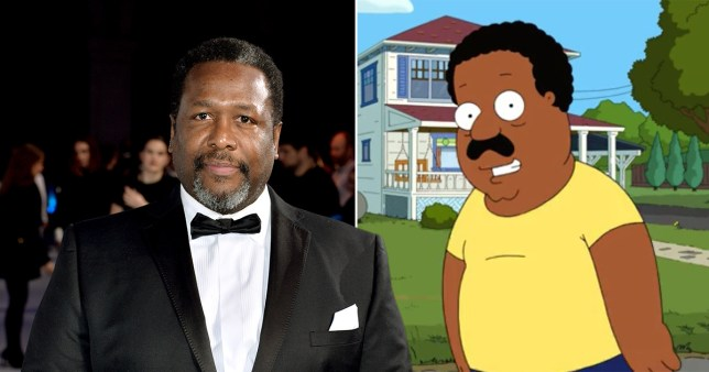 Wendell Pierce and Cleveland Brown