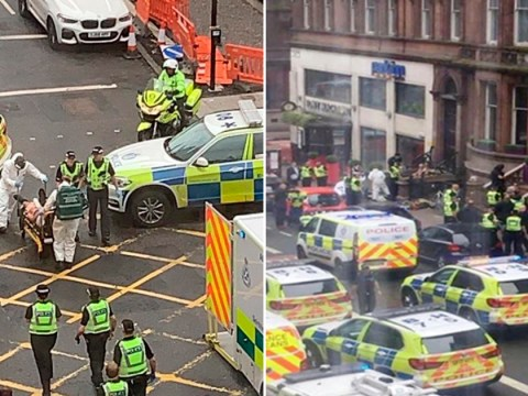Glasgow stabbing witness saw 'blood everywhere' and people 'screaming for help'