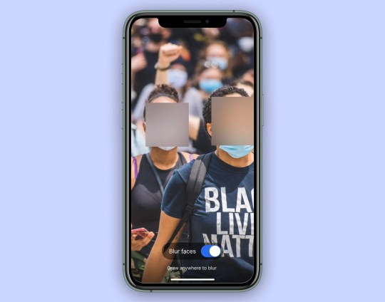 Signal is now letting users blur their faces (Signal)