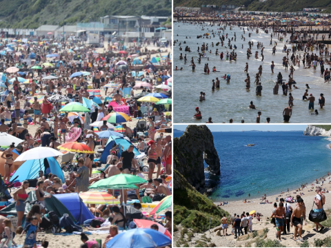 Fears Dorset could go back into lockdown as day-trippers flock to beaches