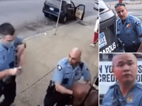 Three other cops charged over murder of unarmed black man George Floyd