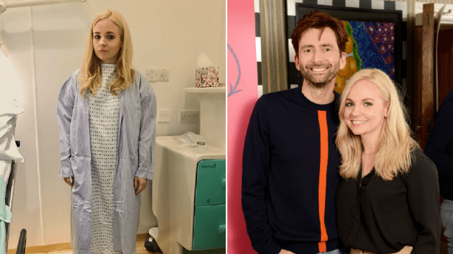 Georgia and David Tennant