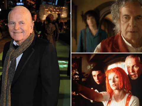 Sir Ian Holm's incredible six-decade career, as he recovered from stage fright to become global star