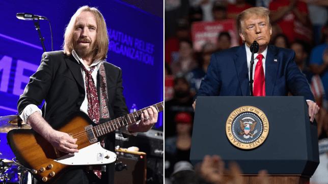 Tom Petty and Donald Trump