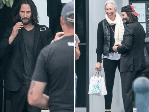 Keanu Reeves all smiles with girlfriend Alexandra Grant as he returns to Matrix 4 filming in Germany
