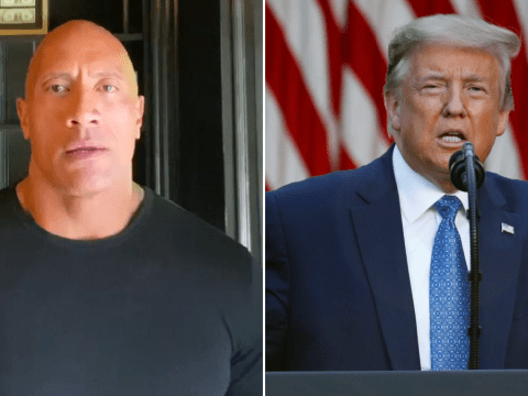 Dwayne Johnson rips into Donald Trump for response to George Floyd protests: 'Where is our compassionate leader?'