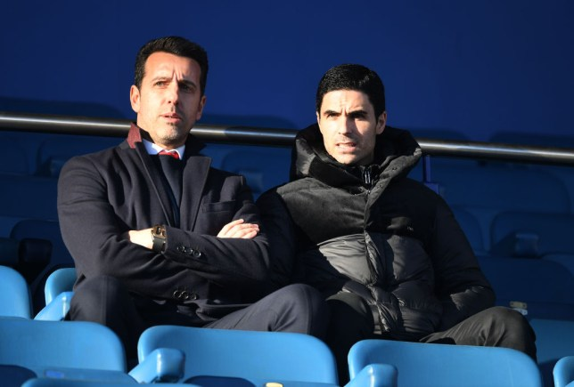 Arsenal technical director Edu had never met Mikel Arteta before he helped appoint him as Unai Emery's successor
