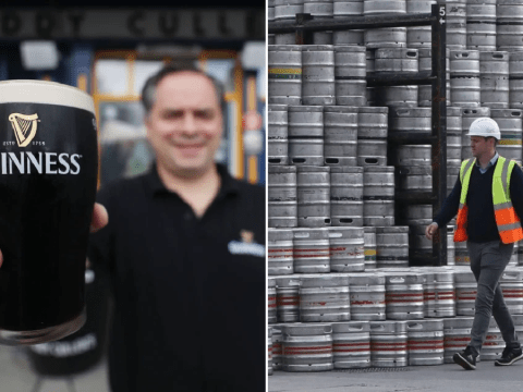 Guinness ramps up production ahead of July 4 'Independence Day' for pubs