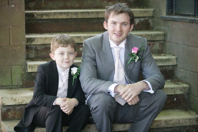 Max and Tom in Hollyoaks