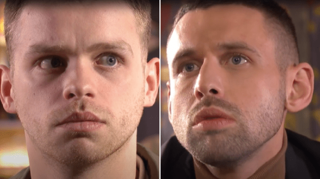 Jordan and Victor in Hollyoaks